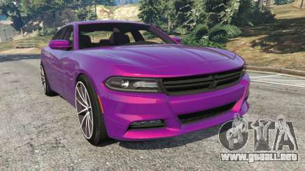 Dodge Charger RT 2015 v1.1 para GTA 5
