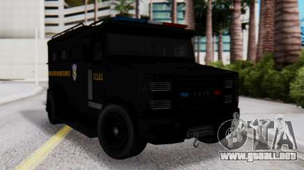 GTA 5 Enforcer Raccoon City Police Type 2 para GTA San Andreas