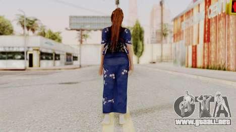 DOA 5 Kasumi Kimono para GTA San Andreas tercera pantalla