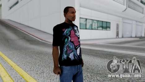 Shirt from Jeff Hardy v2 para GTA San Andreas tercera pantalla