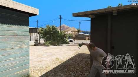 GTA 5 Saints Row 3 Cyber SMG Emissive v1.01 octavo captura de pantalla