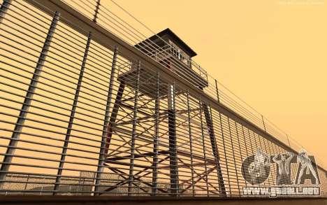 Nueva Base Militar v1.0 para GTA San Andreas sucesivamente de pantalla