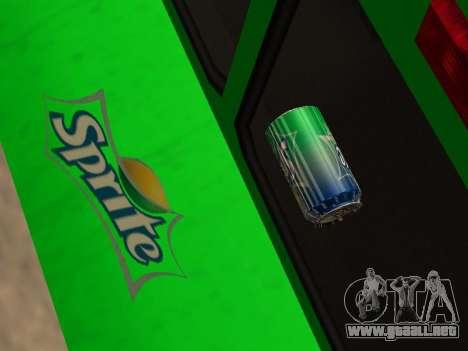 Boxville Sprite para visión interna GTA San Andreas
