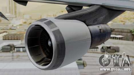 Boeing 747 Southern Air para la visión correcta GTA San Andreas