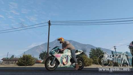 Pegassi Bati 801RR Anime Texture Pack para GTA 5