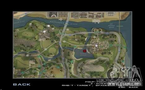 HD tarjeta para Diamondrp para GTA San Andreas sexta pantalla