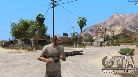 GTA 5 El railgun de Battlefield 4