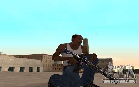 M4 c cub para GTA San Andreas