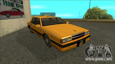 Willard Taxi para GTA San Andreas left