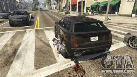 GTA 5 GrabScript V cuarto captura de pantalla