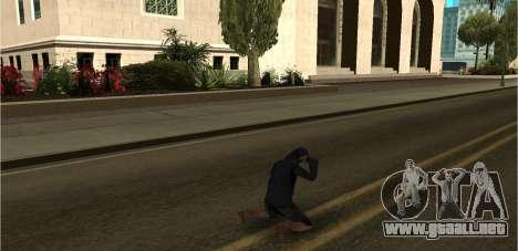 60 Animations v2.0 para GTA San Andreas segunda pantalla