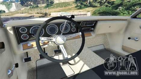 GTA 5 Chevrolet Impala 1967 delantero derecho vista lateral