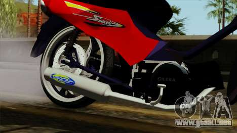 Gilera Smash para la visión correcta GTA San Andreas