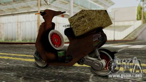 Zip SP Rat Style para GTA San Andreas left