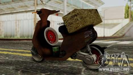 Zip SP Rat Style para GTA San Andreas left