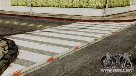 BlackRoads v1 LS Kenblock para GTA San Andreas quinta pantalla