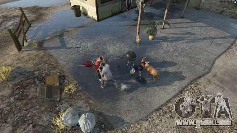GTA 5 Buster Sword segunda captura de pantalla