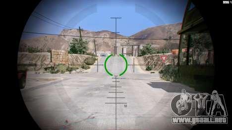 GTA 5 M2014 Gauss Rifle из Crysis 2 segunda captura de pantalla
