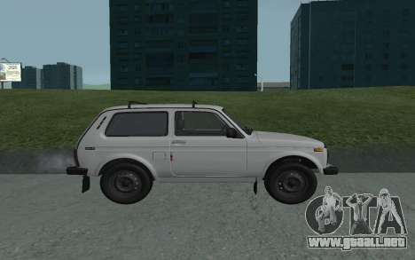 VAZ Niva 21213 para GTA San Andreas left