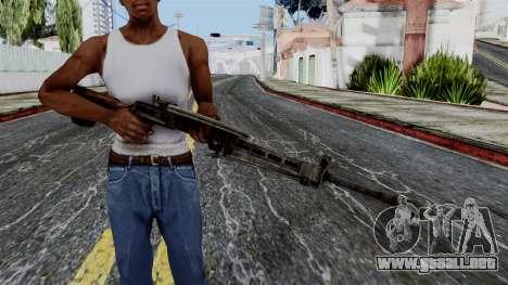 DP LMG from Battlefield 1942 para GTA San Andreas tercera pantalla