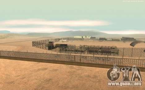 Nueva Base Militar v1.0 para GTA San Andreas segunda pantalla