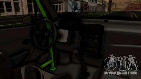 Daewoo Matiz Tuning para la visión correcta GTA San Andreas