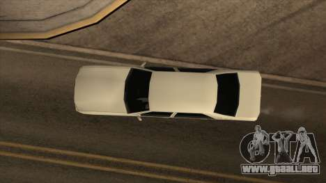 Mercedes Benz W140 S600 para la visión correcta GTA San Andreas