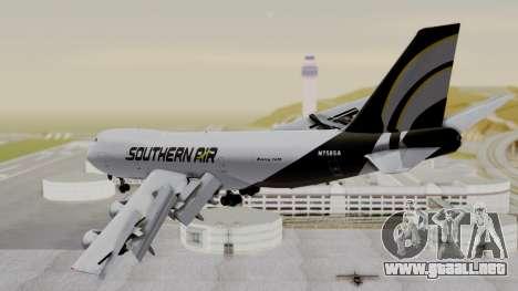 Boeing 747 Southern Air para GTA San Andreas left