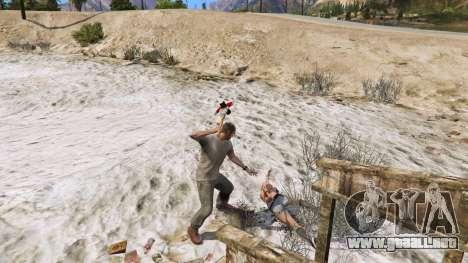 GTA 5 Hacha de Dead Rising cuarto captura de pantalla