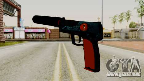 USP-S Caiman para GTA San Andreas segunda pantalla