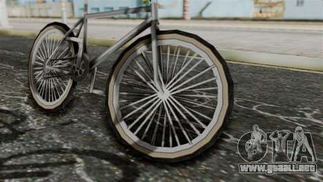Racer from Bully para GTA San Andreas vista posterior izquierda