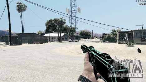 GTA 5 Saints Row 3 Cyber SMG Emissive v1.01 sexta captura de pantalla