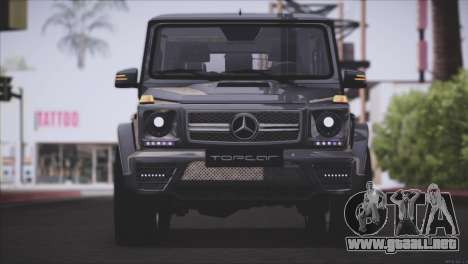 Mercedes Benz G65 AMG 2015 Topcar Tuning para GTA San Andreas left