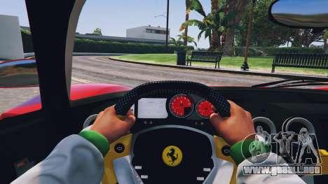 GTA 5 Ferrari Enzo v0.5 vista trasera