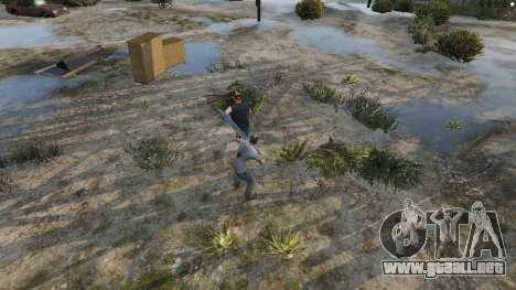 GTA 5 Buster Sword tercera captura de pantalla