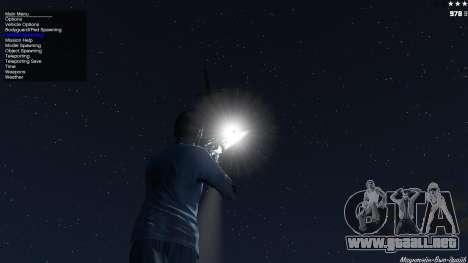 GTA 5 Laser Rocket Mod V5 sexta captura de pantalla