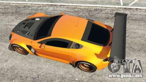 GTA 5 Aston Martin Vantage GT3 vista trasera