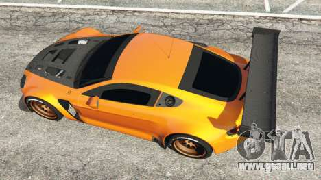 Aston Martin Vantage GT3 para GTA 5
