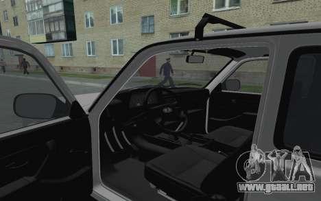 VAZ Niva 21213 para GTA San Andreas vista hacia atrás