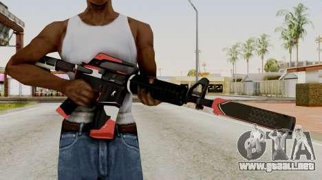 M4A1-S Cyrex para GTA San Andreas tercera pantalla