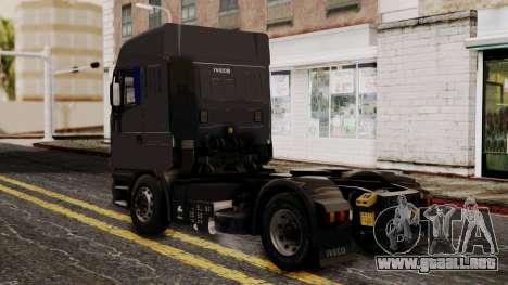 Iveco EuroStar Normal Cab para GTA San Andreas left