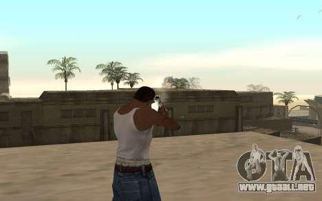M4 c cub para GTA San Andreas tercera pantalla