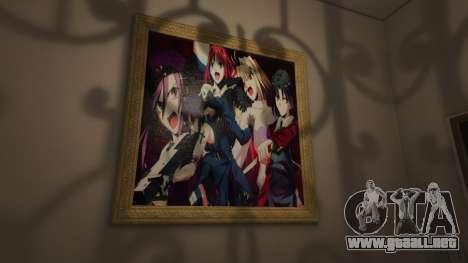 Anime a los carteles de la casa de Michael para GTA 5