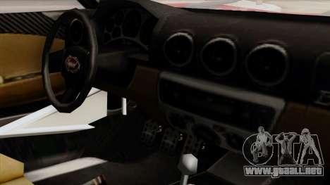 Vapid Bullet GT-GT3 para la visión correcta GTA San Andreas