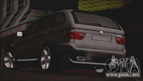 BMW X5 E53 para la visión correcta GTA San Andreas