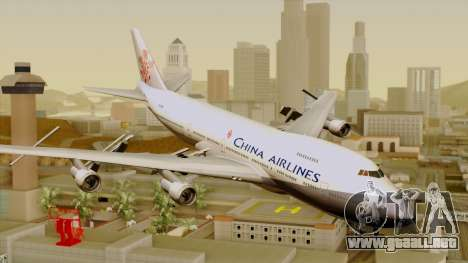 Boeing 747-200 China Airline para GTA San Andreas