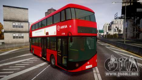 Wrightbus New Routemaster Arriva para GTA 4