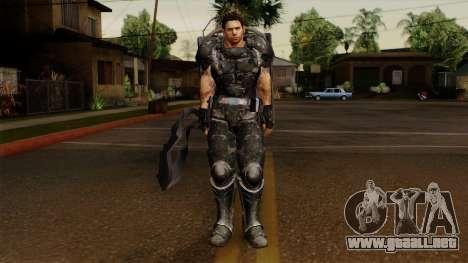 Chris Heavy Metal para GTA San Andreas segunda pantalla