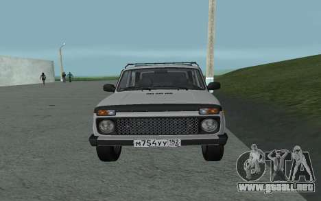 VAZ Niva 21213 para la visión correcta GTA San Andreas