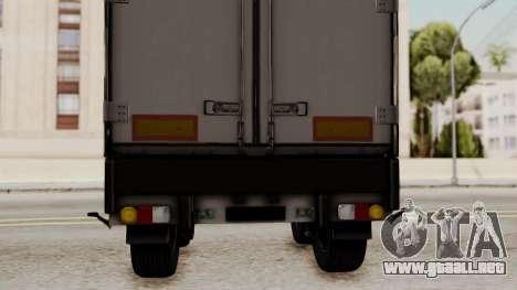 Cooliner Trailer from ETS 2 para la visión correcta GTA San Andreas